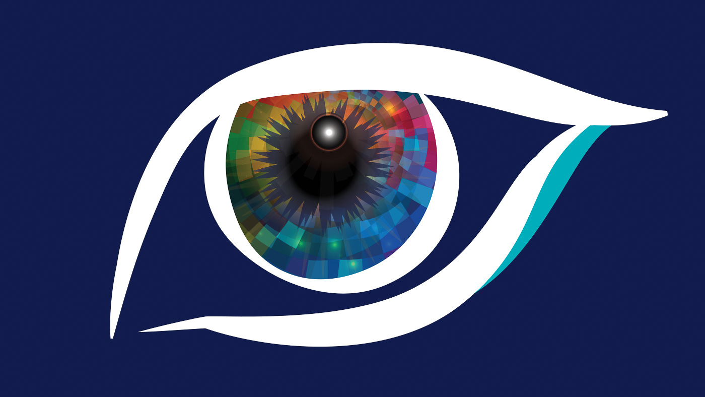 Spectra Eye - Logo Full Color